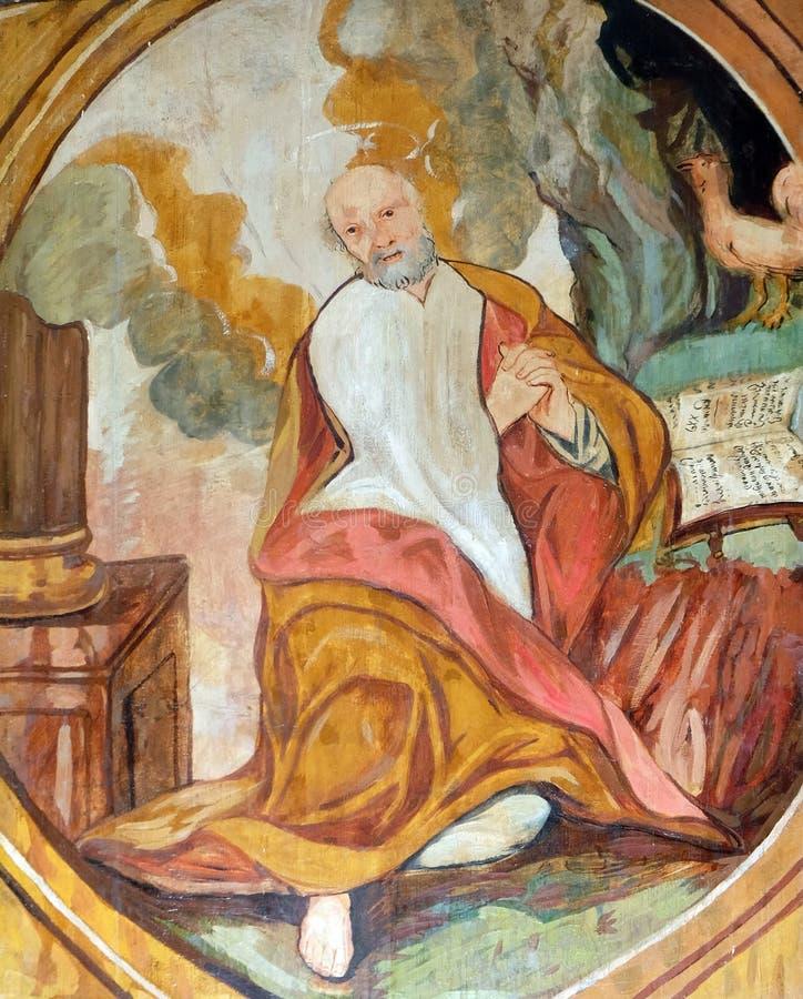 Святой Илия стоковое изображение rf