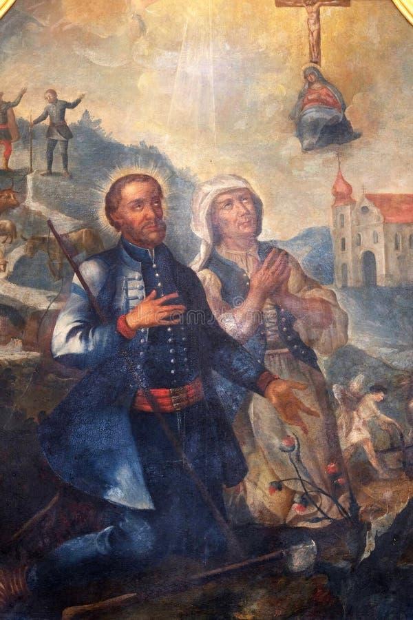 Святой Исидор и Мария Torribia стоковое фото rf