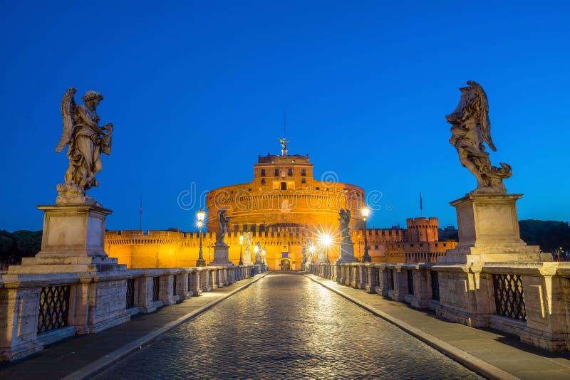 святой Италии rome замока ангела стоковые изображения