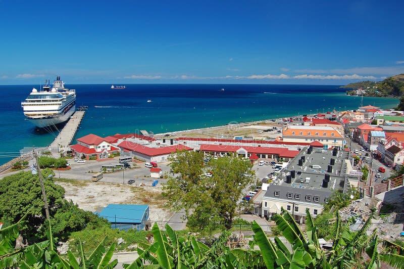 святой панорамы s гавани george стоковые фото
