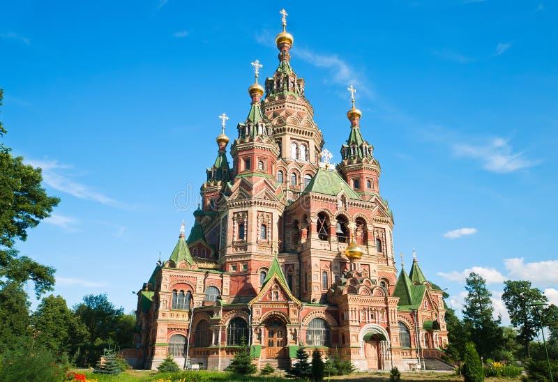 святой Паыля peter церков стоковая фотография
