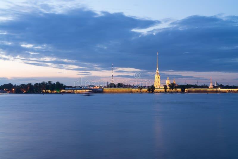 святой Паыля peter petersburg России крепости стоковые фото