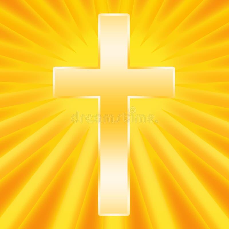 Святой перекрестный светить бесплатная иллюстрация