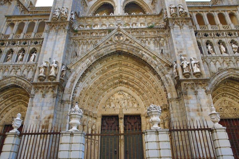 Святой собор церков, Toledo, Испания стоковое изображение rf