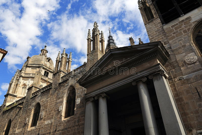 Святой собор церков, Toledo, Испания стоковое изображение