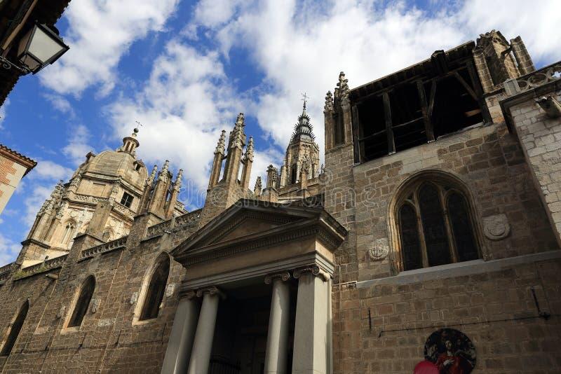Святой собор церков, Toledo, Испания стоковое фото