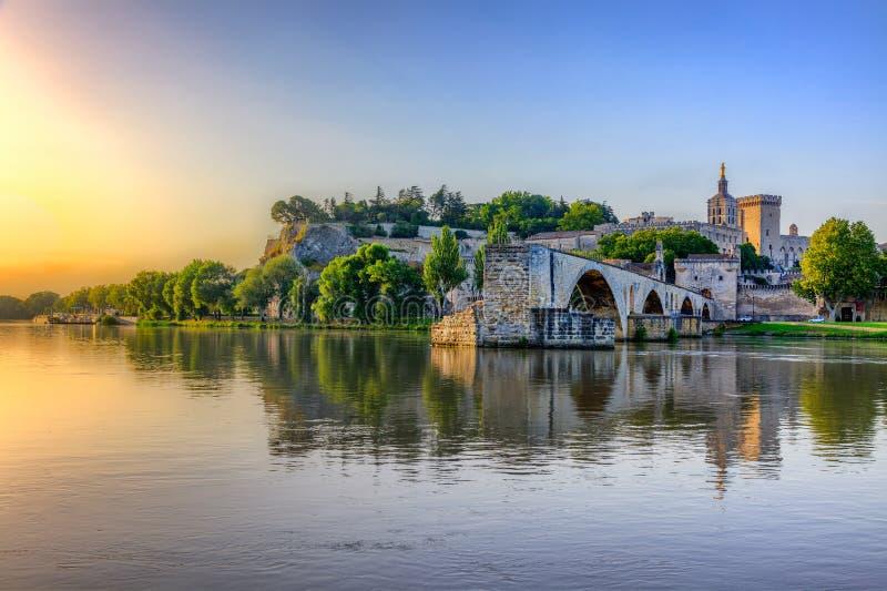 Святой-Bénezet, Авиньон, Франция стоковое изображение