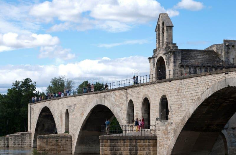 Download Святой-Benezet Pont D Авиньона Стоковое Фото - изображение насчитывающей серо, rhone: 40583018