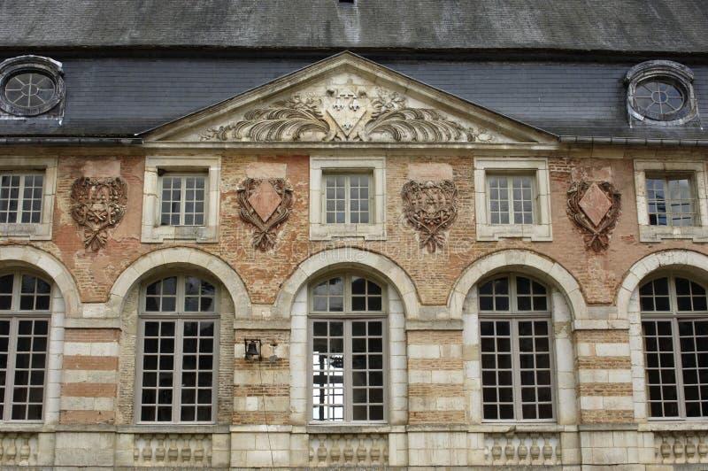 святой fargeau замока стоковое изображение