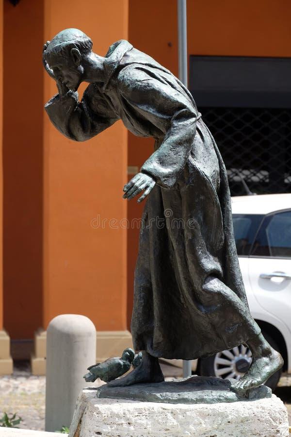 святой francis assisi стоковое изображение rf