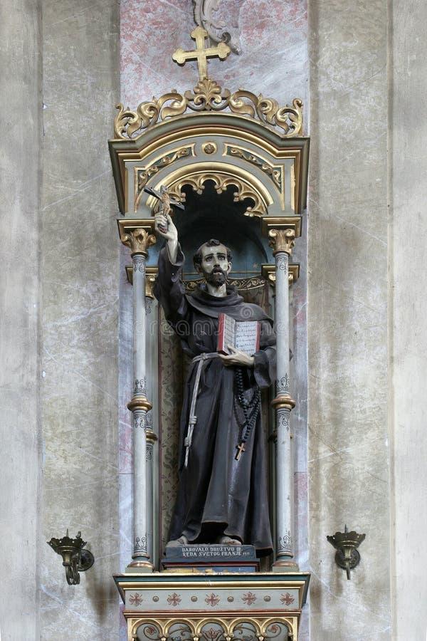 святой francis assisi стоковое фото