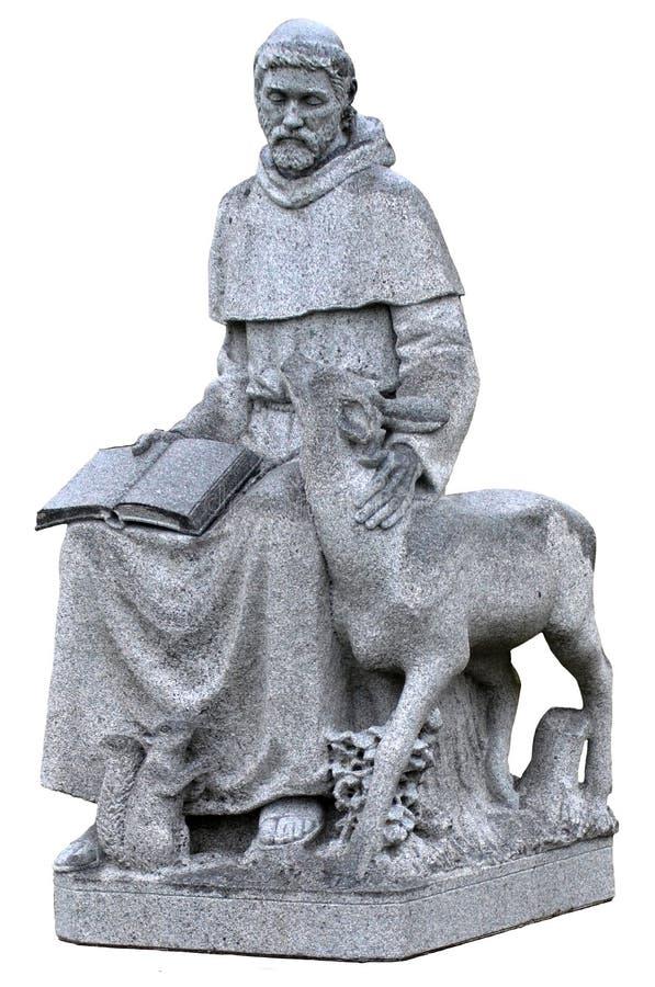 святой francis assisi стоковые фото