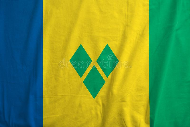 святой grenadines флага vincent стоковые изображения