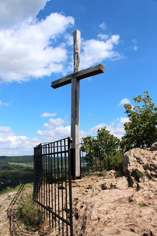 святой john скалы вниз стоковая фотография rf