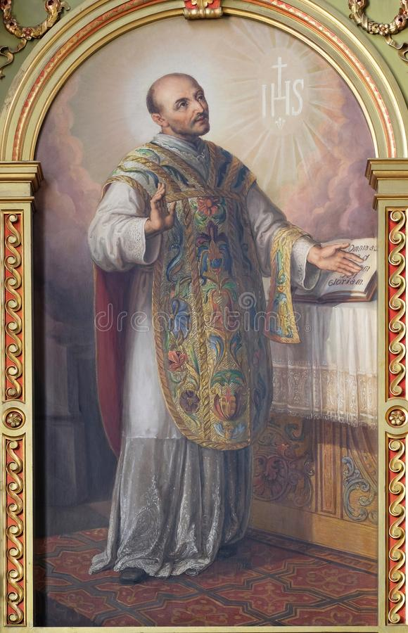 святой loyola ignatius стоковая фотография