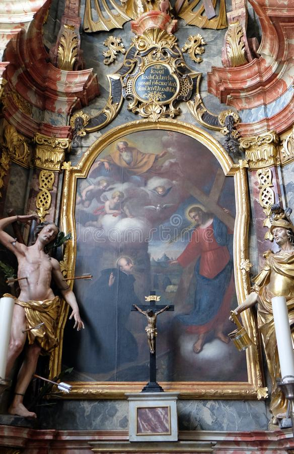 святой loyola ignatius стоковая фотография rf