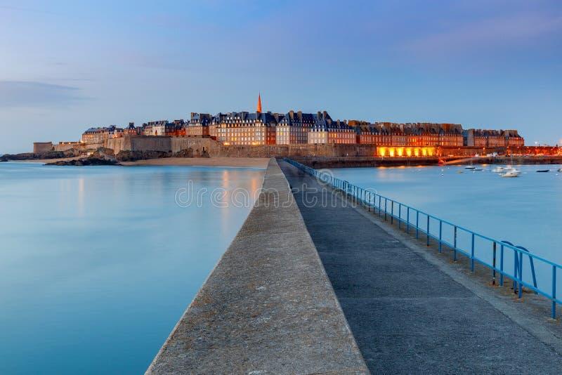Святой Malo взгляд городка эстонии старый tallinn стоковая фотография