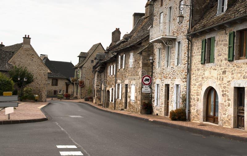 Святой-Mamet-Ла-Salvetat франция городского пейзажа стоковая фотография
