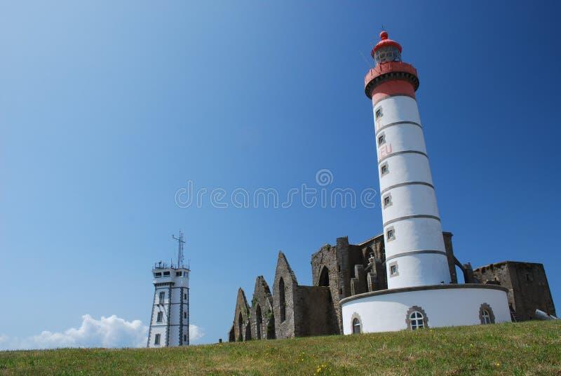 святой mathieu маяка стоковое изображение