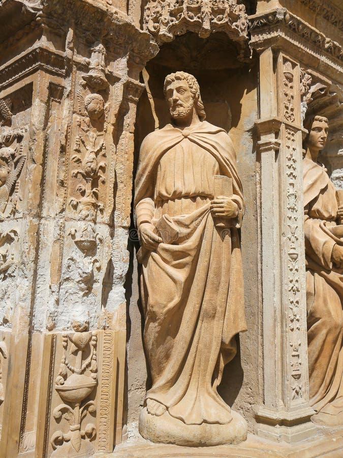 Святой Matthias апостола на церков St. Thomas Haro, l стоковое фото