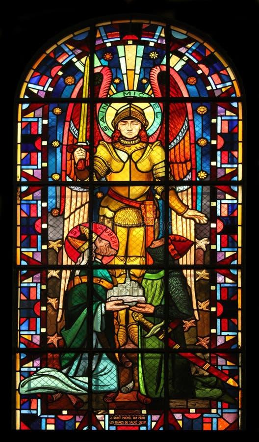 святой michael стоковое изображение rf