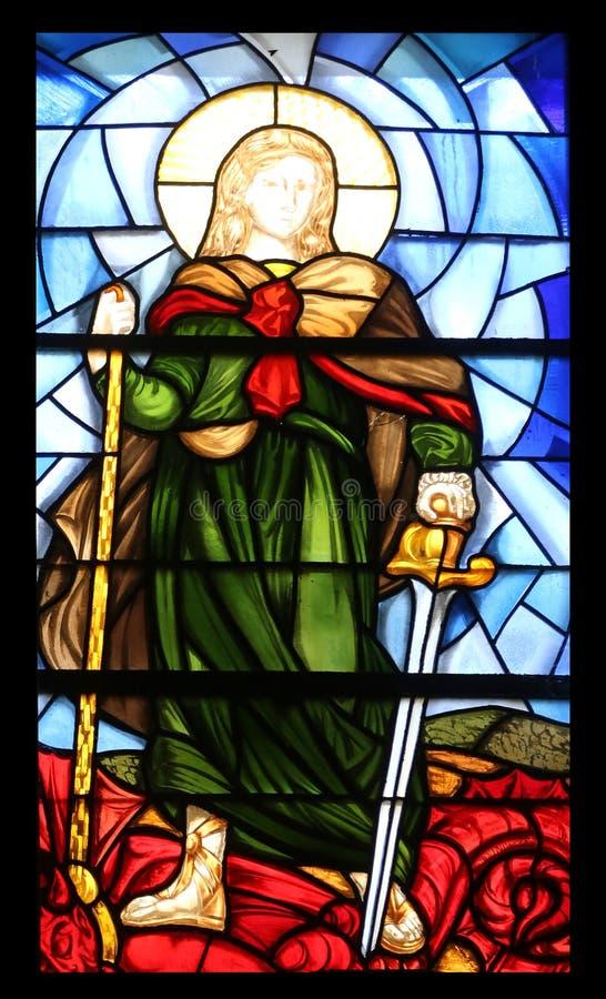 святой michael стоковое фото