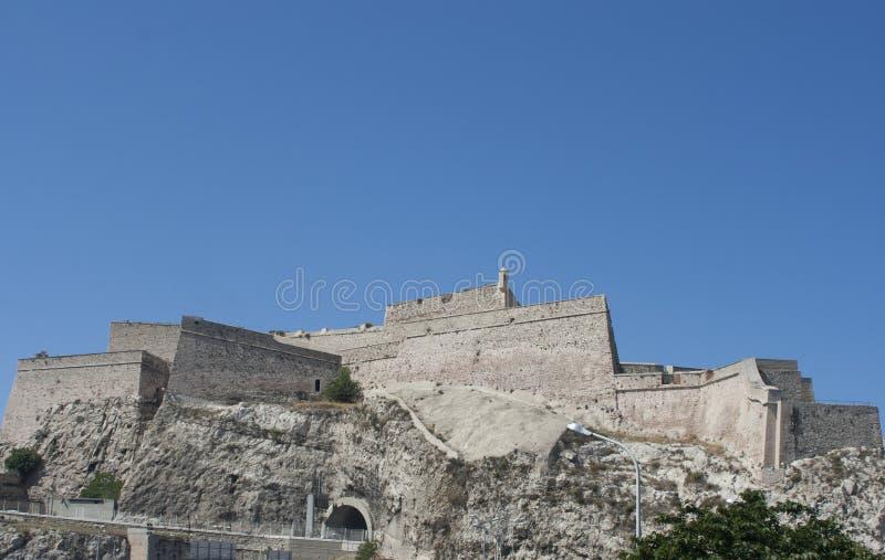 Святой Nicolas форта, Марсел стоковая фотография rf