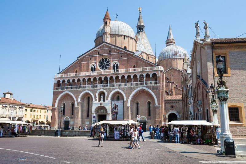 святой padua базилики Антония стоковое изображение