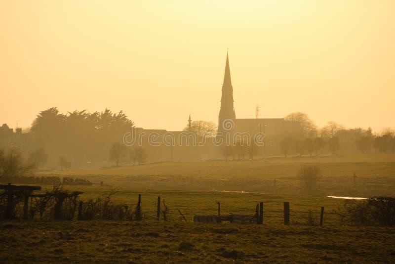 святой patrick церков уравновешивание Co Meath Ирландия стоковая фотография