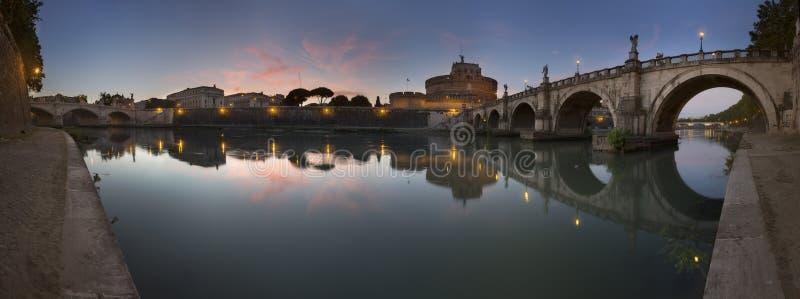 святой rome замока ангела стоковое изображение rf