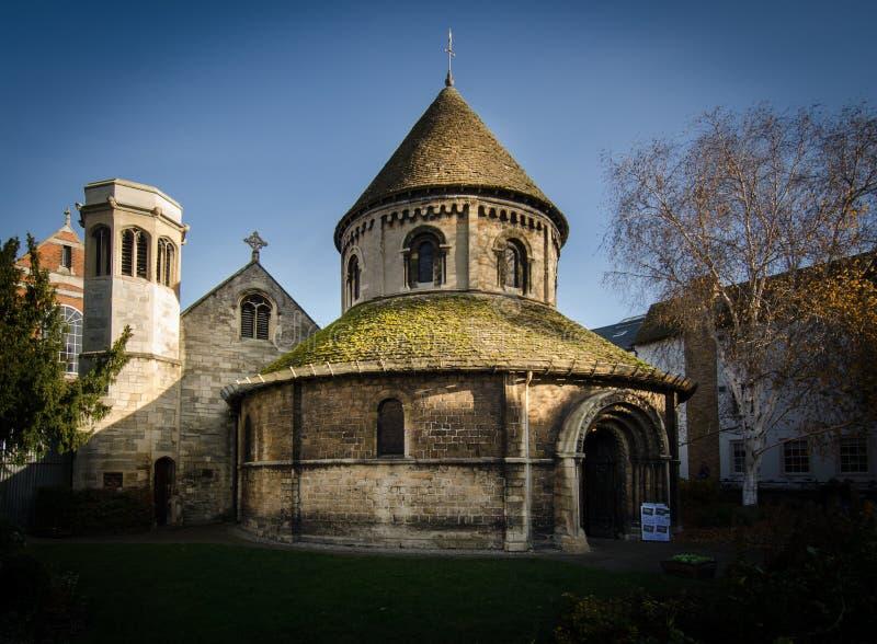 Святой Sepulchre, Кембридж стоковые изображения rf