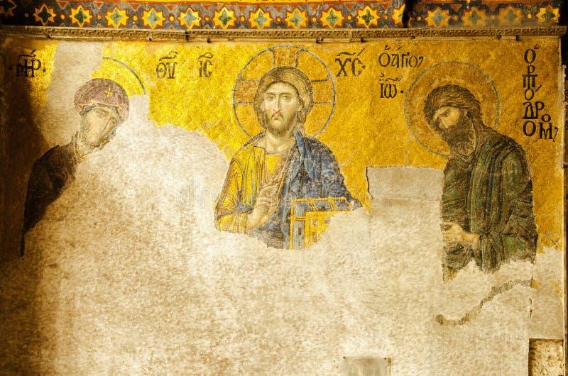 Святой Sophia в Константинополе стоковая фотография rf