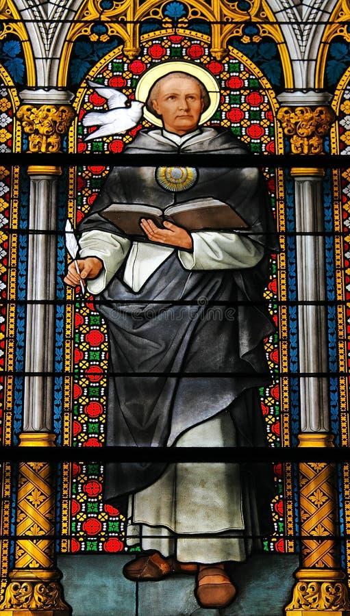 Святой Thomas Aquino стоковое фото