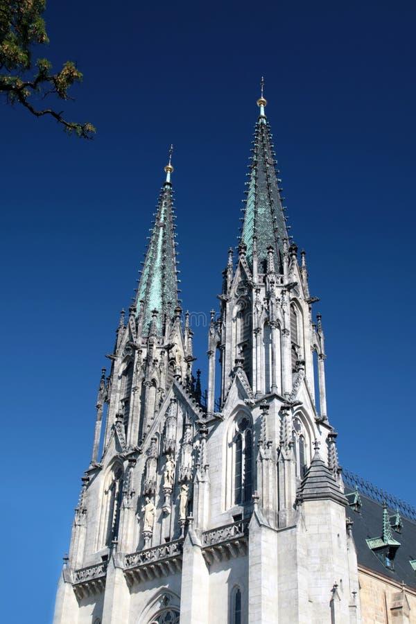 святой wenceslas республики olomouc собора чехословакское стоковые изображения rf