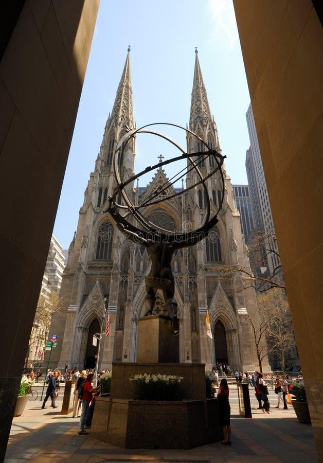 святой york patrick собора новое стоковые фотографии rf