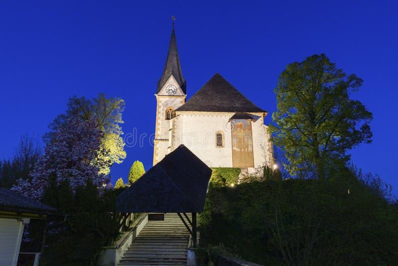 Святые Primus и церковь Felician в стоимости Марии стоковая фотография rf