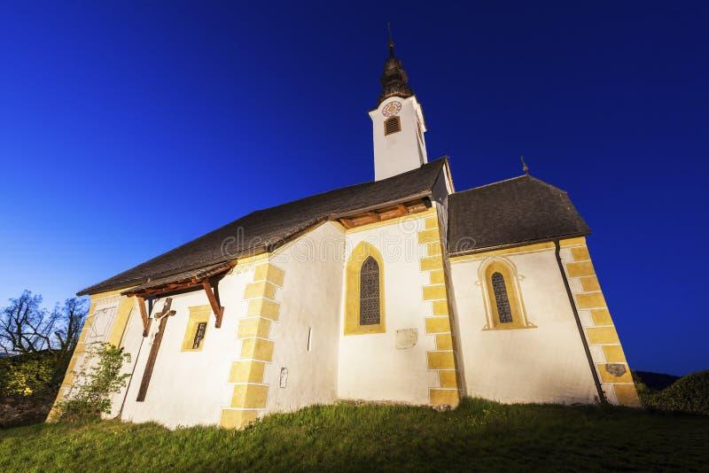Святые Primus и церковь Felician в стоимости Марии стоковая фотография