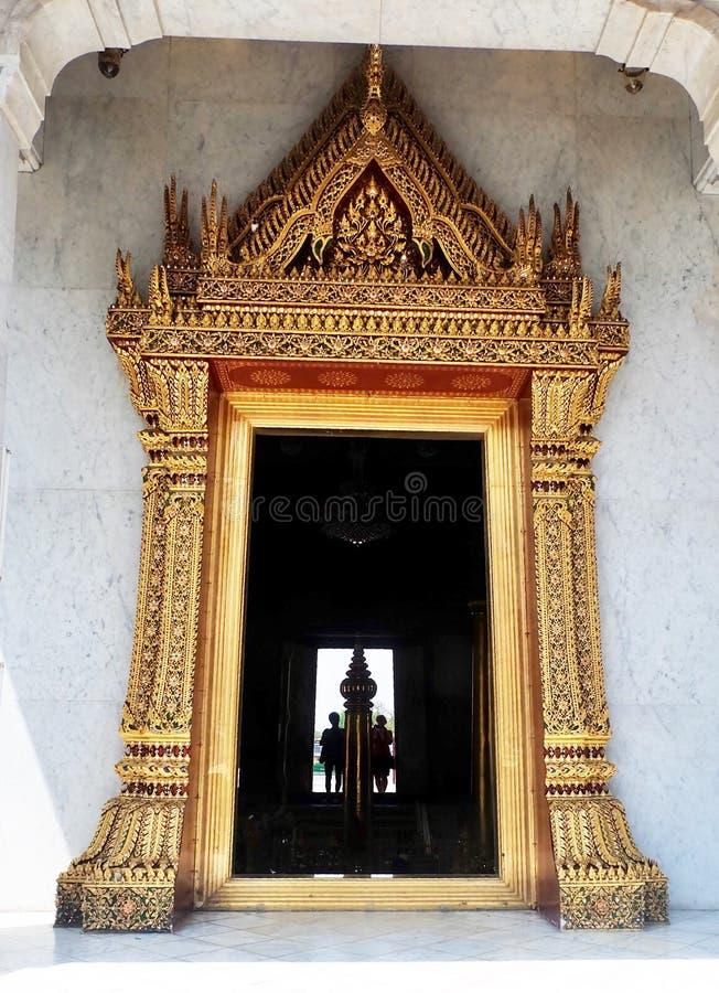 Святыня штендера города Бангкока в Бангкоке, Таиланде стоковая фотография rf