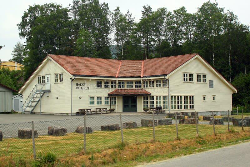 Святыня bedehus в Sira, Норвегии стоковое фото