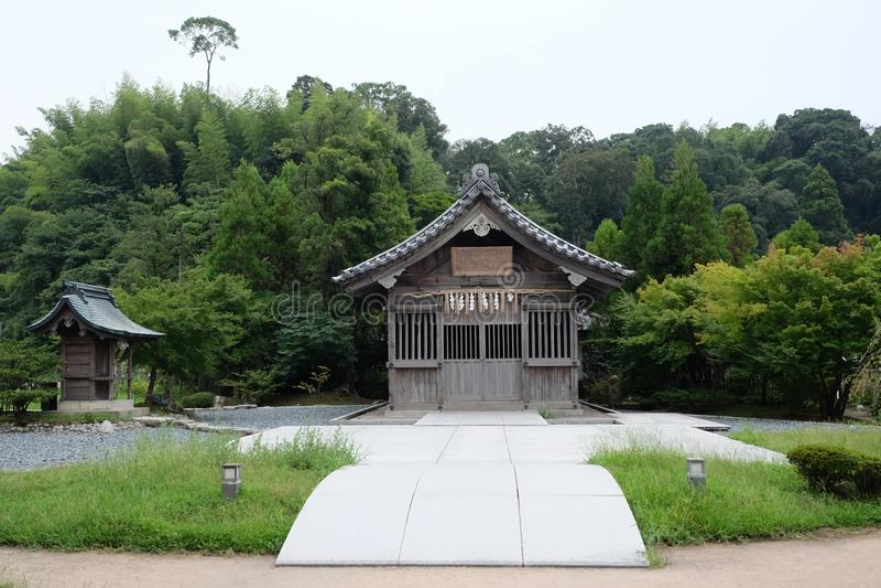 Святыня Dazaifu Tenmangu, Япония стоковое фото