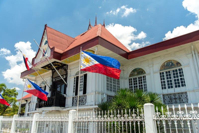 Святыня Emilio Aguinaldo в Kawit, Cavite, Филиппинах стоковые фотографии rf