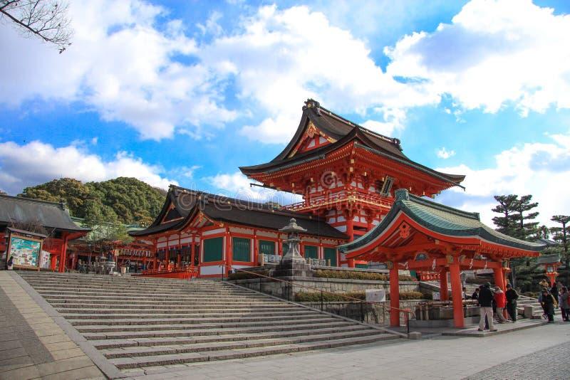 Святыня Fushimi Inari стоковые изображения