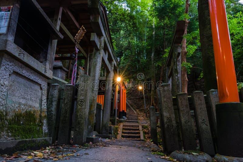 Святыня Fushimi Inari Taisha стоковое фото rf