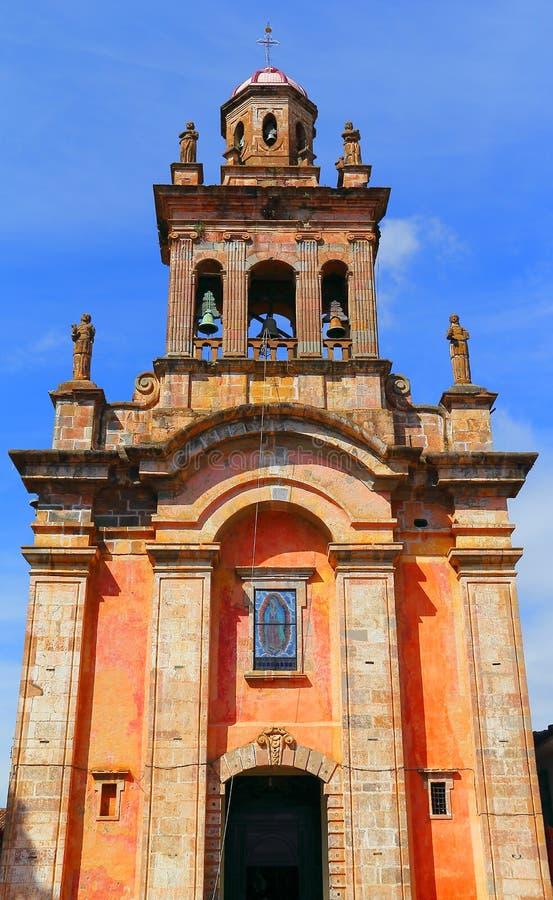 Святыня Guadalupe в patzcuaro i стоковые фото