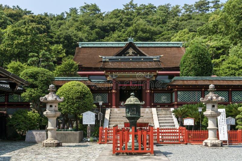 Святыня Kii Toshogu в Wakayama, Японии стоковые изображения