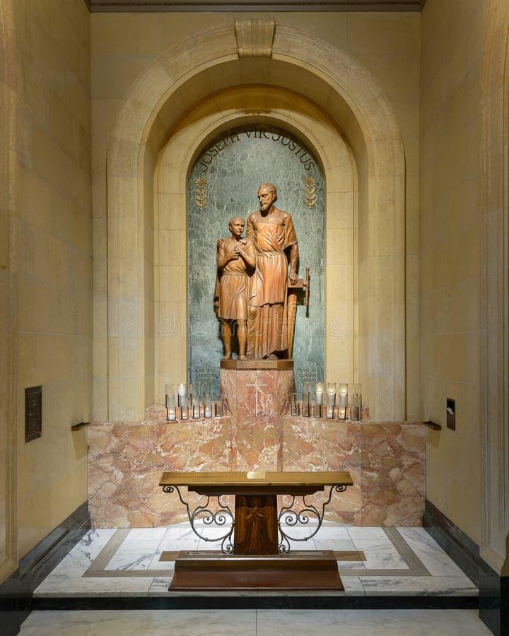Святыня St Joseph стоковые фото