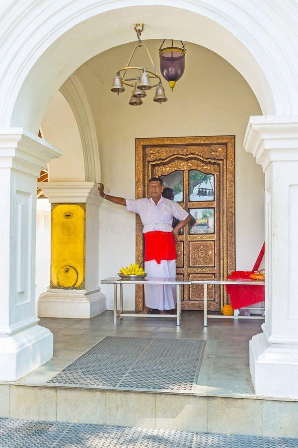 Святыня Thaniwalla Devalaya в Madampe стоковое изображение