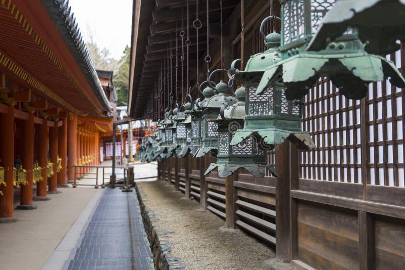 Святыня Yasaka в Киото, Японии стоковое фото rf