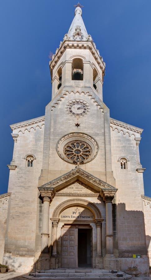 Свят-Saturnin-les-Apt - Люберон - Провансаль - Франция стоковое фото