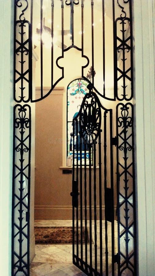 Священная дверь стоковые изображения